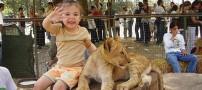 عکسهای باغ وحشی جنجال برانگیز در آرژانتین