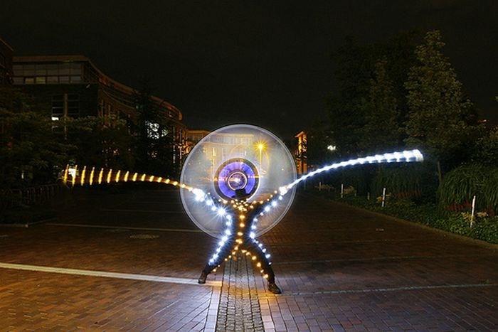 عکس هایی بسیار زیبا از جشنواره لیزر در سنگاپور