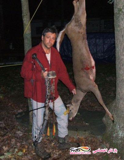 تصاویری از بد شانس ترین شکارچی دنیا !!