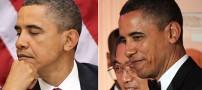 اوباما هم موهایش را رنگ میكند! (+عکس)