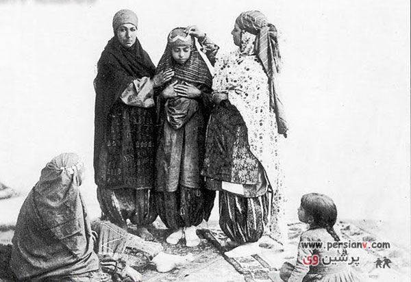 عکس هایی دیدنی از دختران ایران در 1 قرن پیش