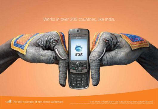 تبلیغات بسیار جالب و هوشمندانه گوشی موبایل