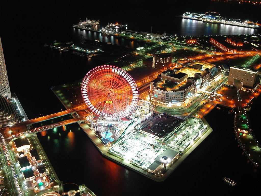 عکس هایی بسیار دیدنی از شهرهای بزرگ در شب