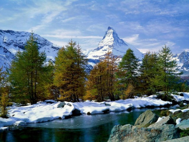 عکس هایی بسیار دیدنی از طبیعت زیبای سوئیس