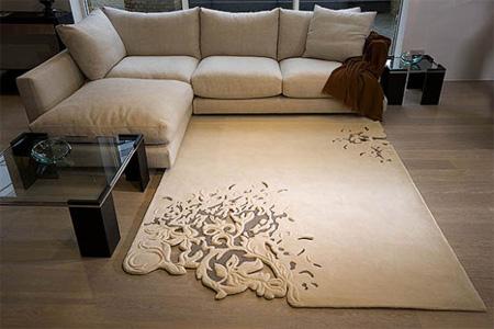 عكس هایی زیبا و دیدنی از قالیچه های مدرن جهان