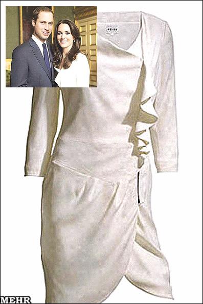 حراج لباس عروس خاندان سلطنتی انگلیس (+تصویر)