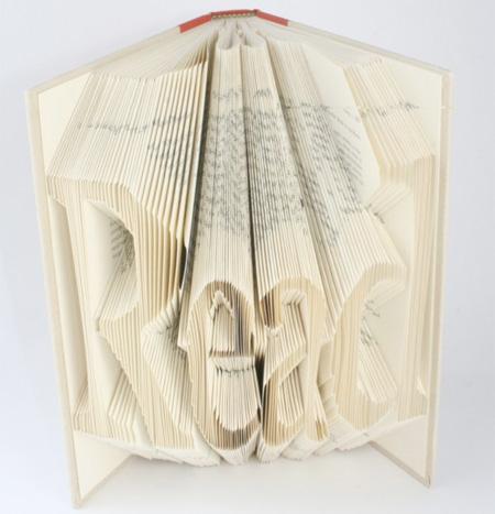 هنرنمایی بسیار جالب و دیدنی بابرگه های کتاب