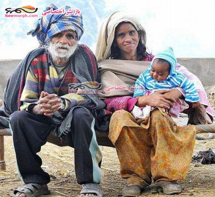 پیرمرد 94 ساله و زن 53 ساله بچه دار شدند !!