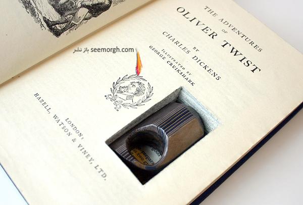 تصاویری از زیور آلات جالب وساخته شده از کاغذ