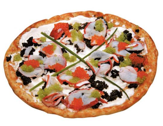 گران ترین پیتزای جهان  (فقط 3 میلیون تومان ناقابل)