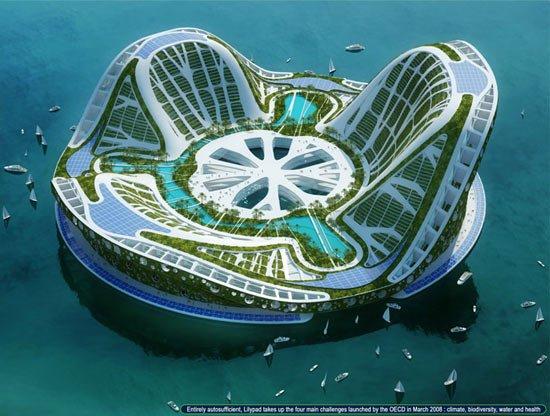 عکس هایی از پروژه رویایی شهر شناور در دبی