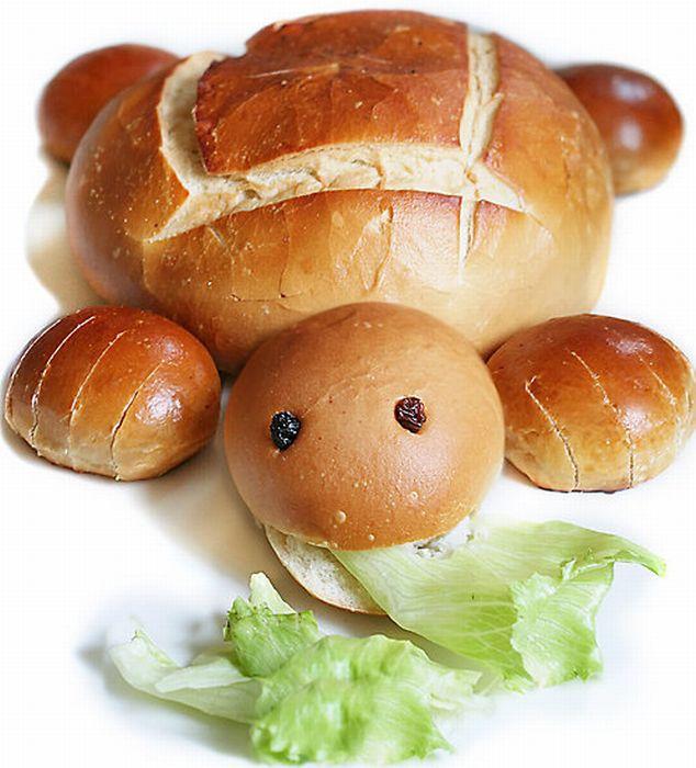 شاهکارهای هنری بسیار بامزه با غذاها