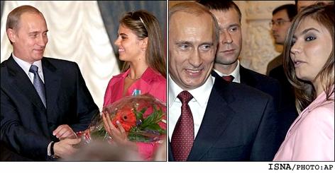 زنی زیبا که دل پوتین را برده و عاشق خود کرده !!