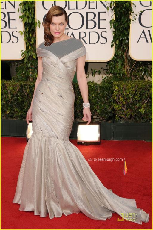 برترین مدلهای لباس هالیوودی ها در گلدن گلاب 2011
