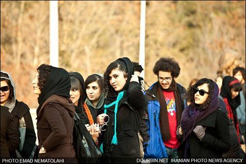 همایش دختر و پسرهای مو فرفری تهران (+عکس)