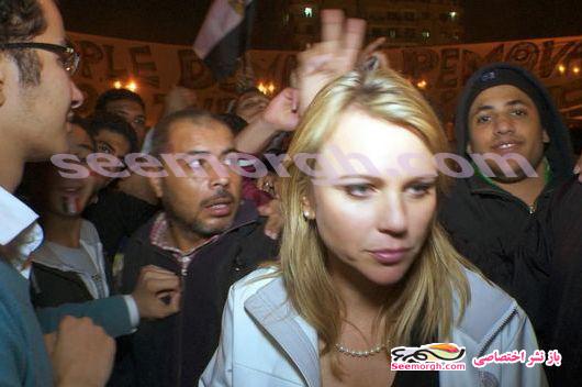 سوء استفاده جنسی از خبرنگار زن امریکایی در مصر