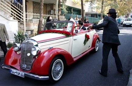 عکس های مراسم عروسی با تشریفات 50 سال قبل