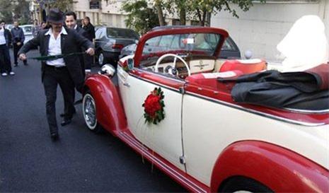 مراسم عروسی با تشریفات 50 سال قبل | www.irannaz.com
