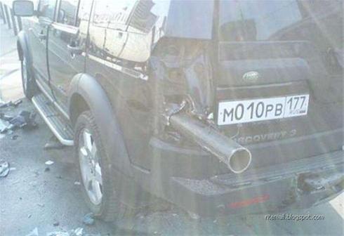 مدیون هستید فکر کنید راننده این اتومبیل خانم بوده !