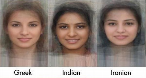 عکس هایی از چهره دختران در کشورهای مختلف