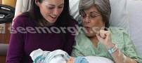 مادربزرگی که نوه اش را بجای دخترش به دنیا آورد!!