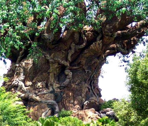 شگفت انگیز ترین و جالب ترین درخت دنیا (اثری هنری)