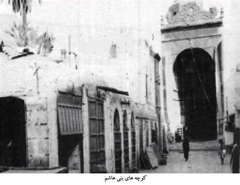 تصاویری از درب خانه حضرت زهرا و کوچه بنی هاشم