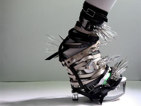 عجیب ترین و جالب ترین کفش های زنانه جهان