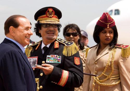 عکس هایی از دختران فدایی قذافی دیکتاتور لیبی