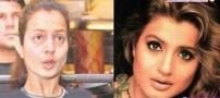 چهره واقعی بازیگران معروف زن بالیوود ، بدون آرایش