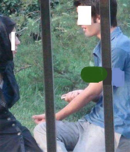 عکسهای مخفی فاجعه باری از یک دختر و پسر ایرانی