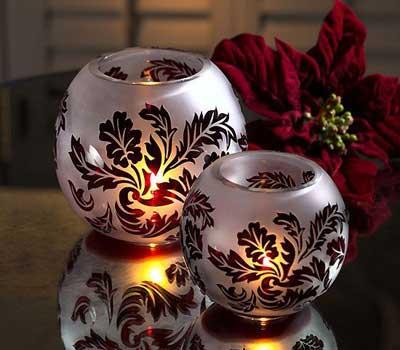نمونه هایی از تزئین شمع های سفره هفت سین