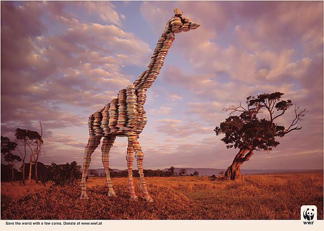عکس هایی بسیار دیدنی از خلاقانه ترین تبلیغات