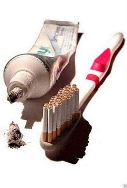 عکس هایی از آخر و عاقبت وحشتناک سیگار کشیدن
