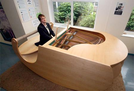 زیباترین و جالب ترین مدل های پیانو در جهان | www.irannaz.com