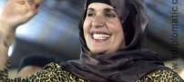 همسر معمر قذافی جنایت کار بی رحم (عکس)