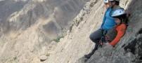 تصاویری از سنگ نوردی دختر 9 ساله ایرانی