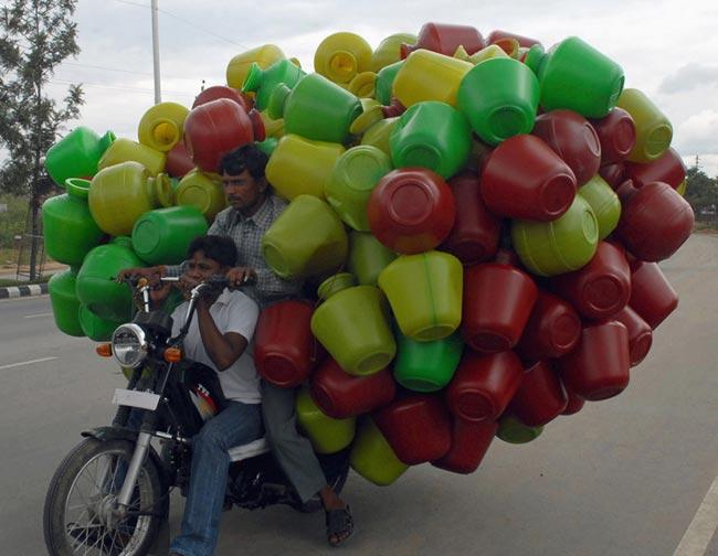 عکس های حمل و نقل های عجیب و خنده دار