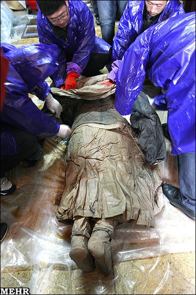 کشف جسد سالم یک زن پس از 367 سال (+عکس)