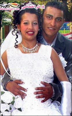 زایمان دختر 11 ساله در مراسم عروسی اش