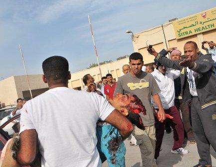 عکسهایی هولناک از جنایت سعودی ها در بحرین 16+