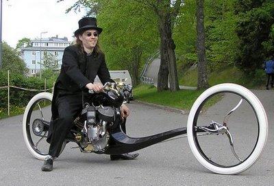عکس هایی از دوچرخه های ابتکاری و بسیار خنده دار