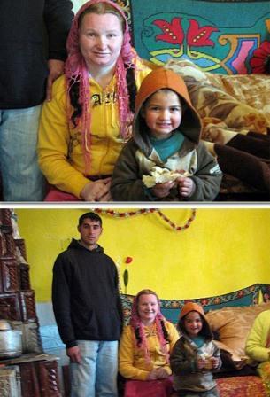 زنی 23 ساله جوان ترین مادربزرگ دنیا (+عکس)