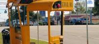 عکس هایی از ایستگاه های اتوبوس بسیار عجیب