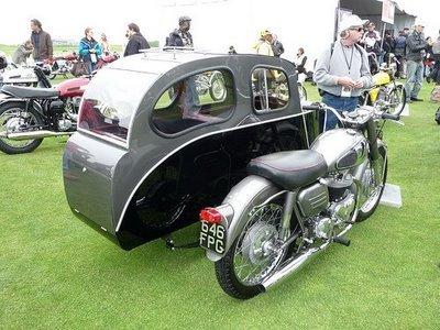 عکس هایی از خنده دار ترین موتور سیکلت های جهان