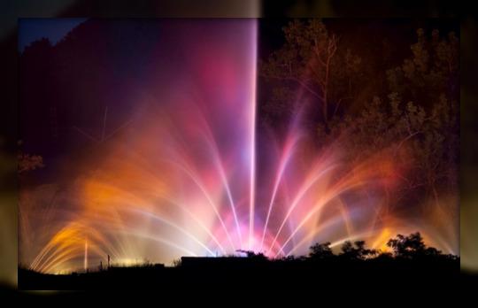 عکس های زیباترین و دیدنی ترین فواره های جهان