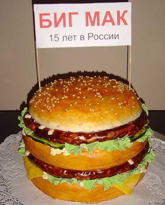 کیک تولد های عجیب و خنده دار به سبک روسی