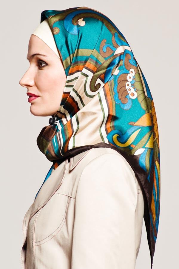 جدیدترین مدل های بستن روسری اسلامی