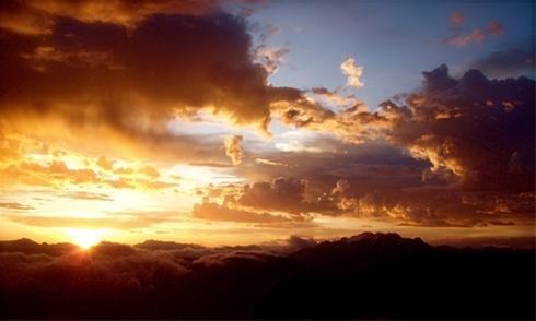 تصاویری بسیار زیبا و بی نظیر از غروب آفتاب