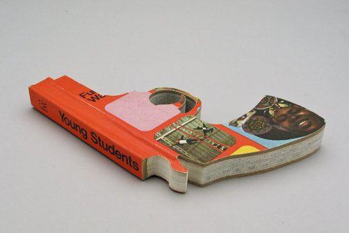 عکس هایی از طرح های زیبا و ابتکاری با کتاب